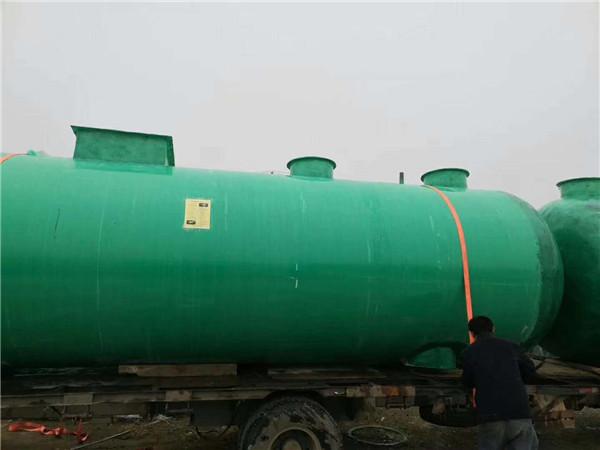 四川玻(bo)璃(li)鋼一體化污水處理設備